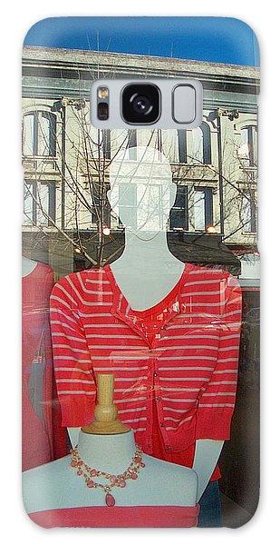 Figure In Window By Jan Marvin Galaxy Case
