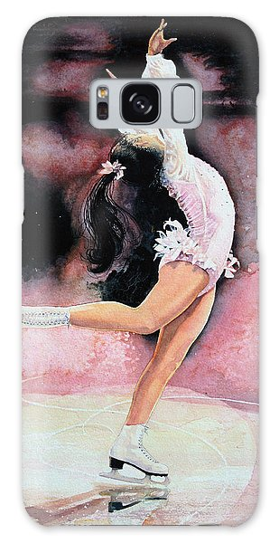 Olympic Figure Skating Galaxy Case - Figure Skater 20 by Hanne Lore Koehler