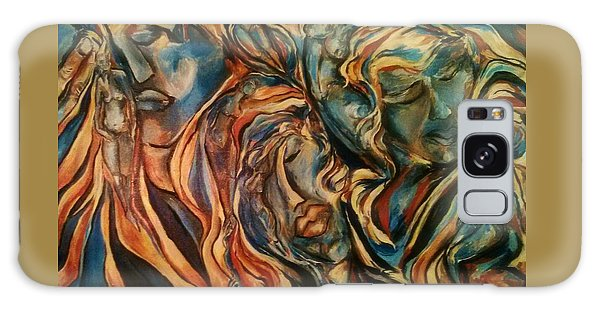 Figures Of  Beauty Galaxy Case by Dawn Fisher