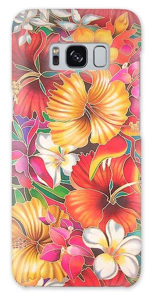 Fiji Flowers IIi Galaxy Case