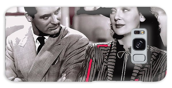 Film Homage Cary Grant Rosalind Russell Howard Hawks His Girl Friday 1940-2008 Galaxy Case