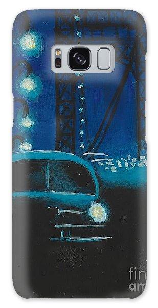 Film Noir In Blue #1 Galaxy Case
