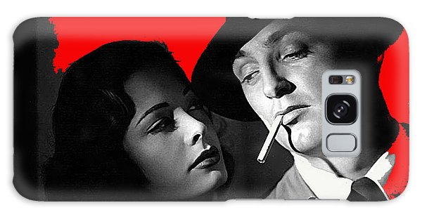 Film Noir Jane Greer Robert Mitchum Out Of The Past 1947 Rko Color Added 2012 Galaxy Case