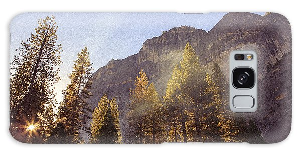 Morning Skies Of Yosemite Galaxy Case