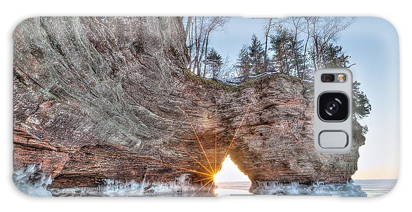 Final Sunset, Apostle Islands Galaxy Case