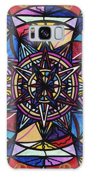 Beautiful Galaxy Case - Financial Freedom by Teal Eye Print Store