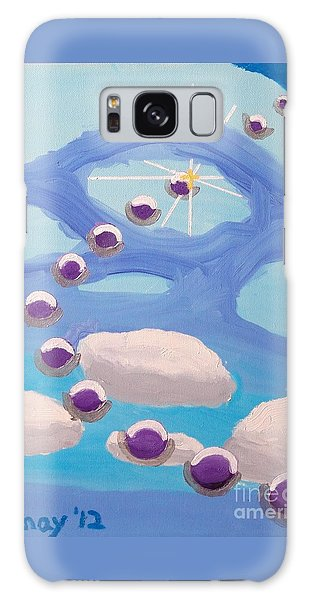 Finding Personal Peace Galaxy Case by Rod Ismay