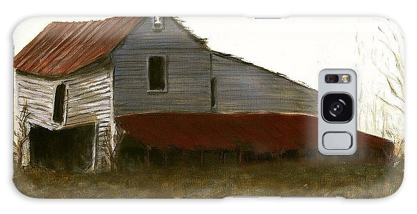 Fine Art Oil Painting North Carolina Barn Galaxy Case