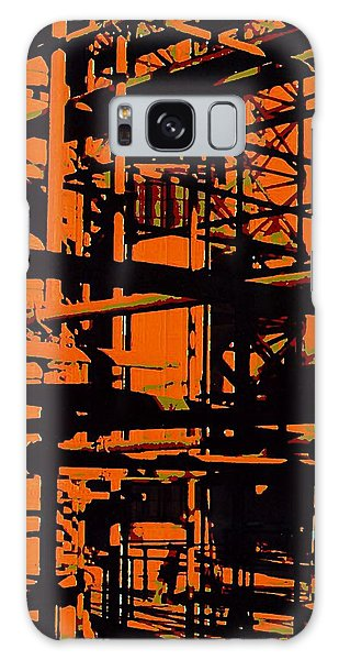 Fine Art Original Digital Pipes Orange Maryland Galaxy Case