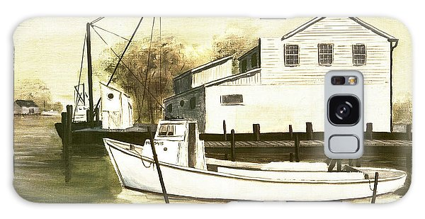 Fine Art Traditional Oil Painting Solomons Island Galaxy Case