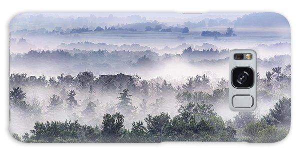 Finger Lakes Morning Galaxy Case