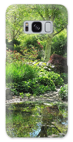 Finnerty Gardens Pond Galaxy Case