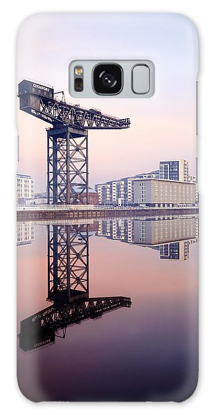 Finnieston Crane Reflection Galaxy Case