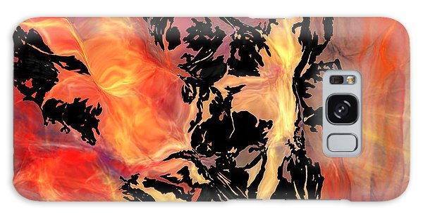 Fire 041214 Galaxy Case by David Lane