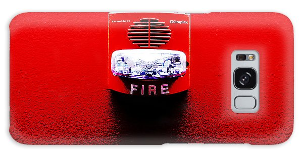 Fire Alarm Strobe Galaxy Case