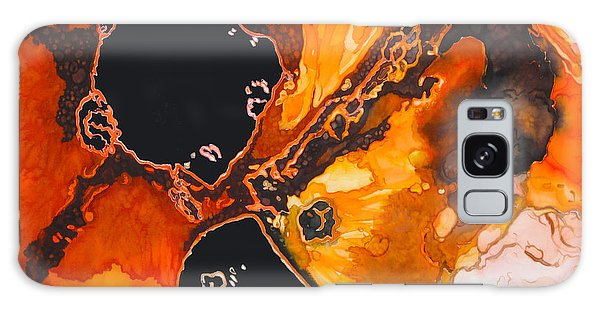 Fire And Ice Galaxy Case