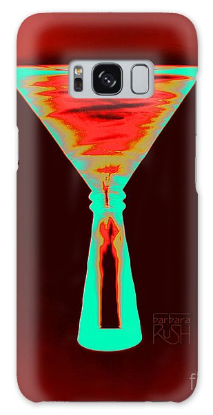 Fire And Ice Martini Galaxy Case