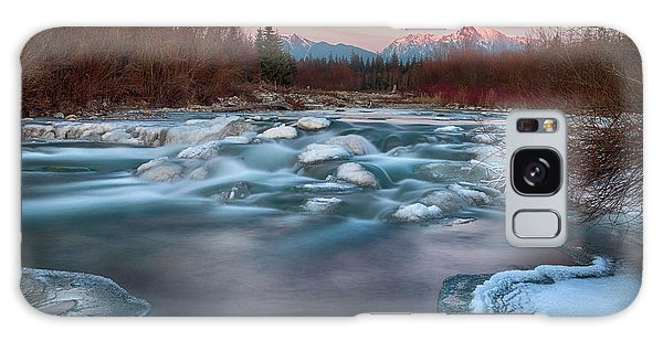 River Galaxy Case - Fire And Ice by Peter Svoboda, Mqep