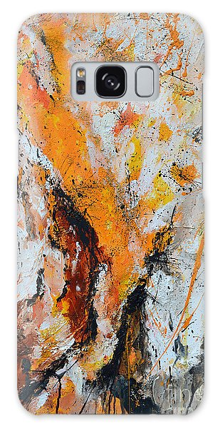 Fire And Passion - Abstract Galaxy Case by Ismeta Gruenwald