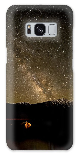 Fire And Sky Galaxy Case