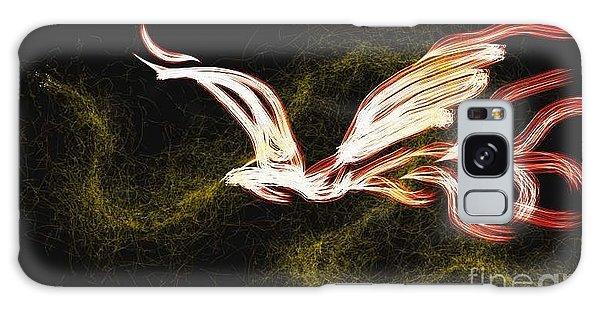 Fire Bird Galaxy Case