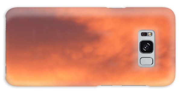 Fire Clouds Galaxy Case