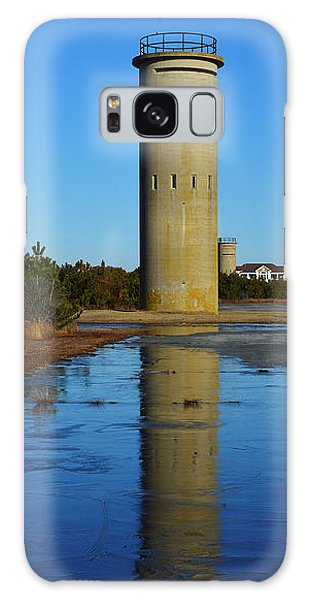 Fire Control Tower 3 Icy Reflection Galaxy Case