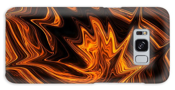 Fire Dancer Galaxy Case by A Dx