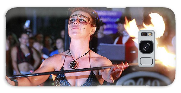 Galaxy Case - Fire Dancer by Frank Savarese
