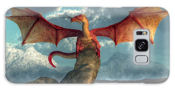 Fire Dragon Galaxy Case by Daniel Eskridge