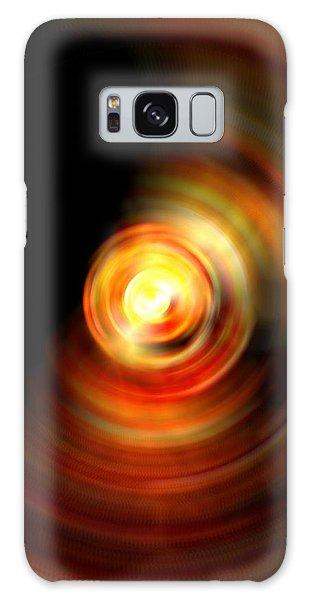 Fire Drop Galaxy Case by Carlee Ojeda