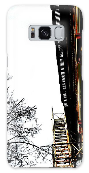 Fire Escape And Clock - Ontario - Canada Galaxy Case