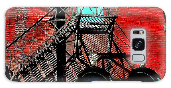 Fire Escape Imprints - Perspective 1 - Ontario - Canada Galaxy Case