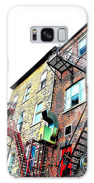 Fire Escape Lattice - Ontario - Canada Galaxy Case