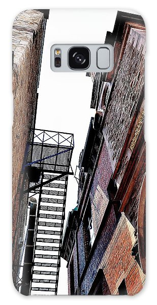 Fire Escape Pompous - Ontario - Canada Galaxy Case