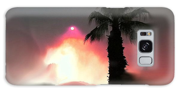 Fire In The Desert Beauty And The Beast Galaxy Case by Sherri's Of Palm Springs