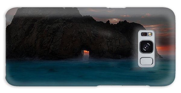 Fire In The Hole.... Big Sur Galaxy Case by Tim Bryan