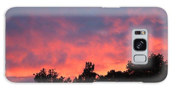 Fire In The Sky Galaxy Case by Deborah Fay