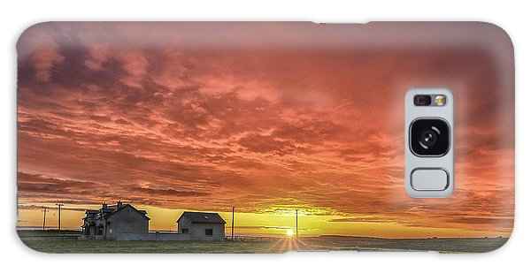 Cottage Galaxy Case - Fire In The Sky by Evelina Kremsdorf