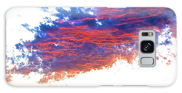 Fire In The Sky Galaxy Case by Margie Amberge