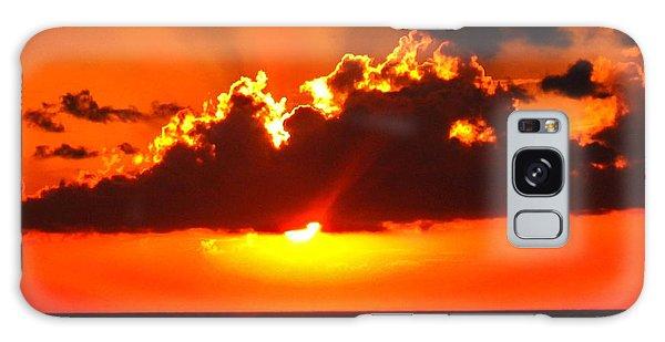 Fire In The Sky Galaxy Case by Patti Whitten