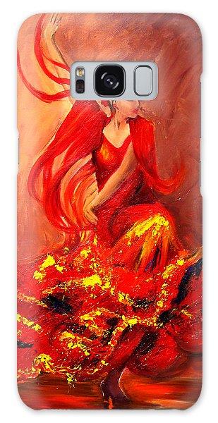 Fire Of Life Flamenco Galaxy Case
