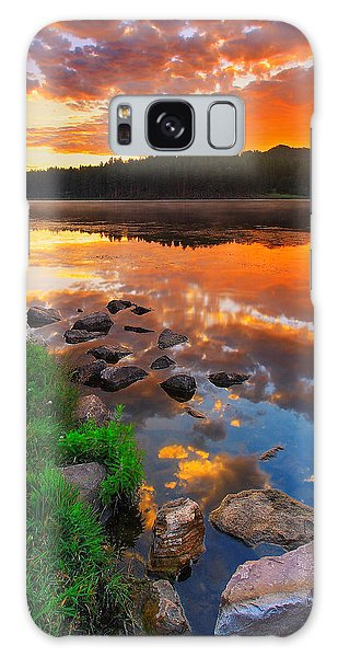 City Scenes Galaxy S8 Case - Fire On Water by Kadek Susanto