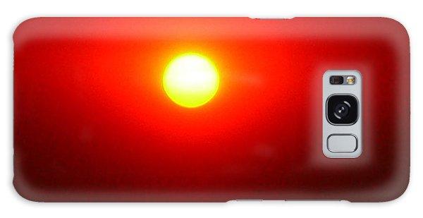 Fire Sun Galaxy Case by Julia Ivanovna Willhite