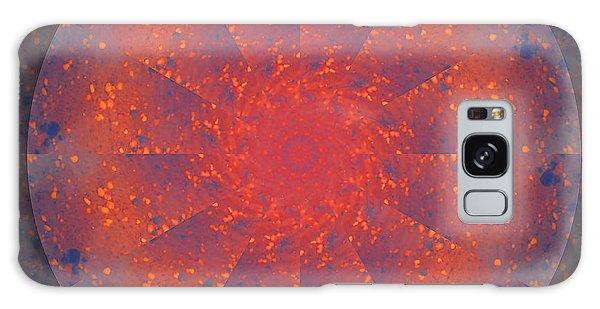 Fire Water Mandala Galaxy Case