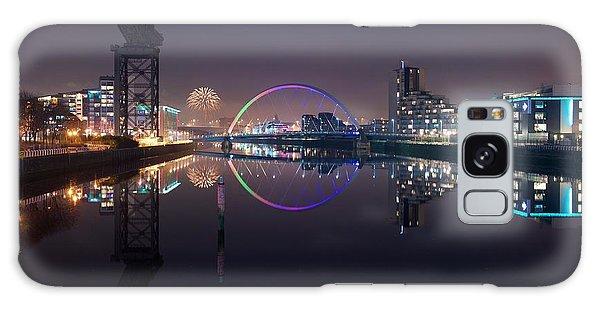 Fire Works Night Glasgow Galaxy Case