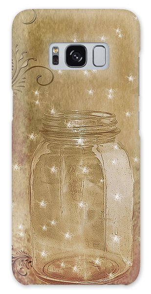 Fireflies And Dragonflies Galaxy Case
