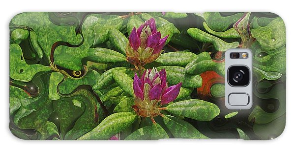 Fireflies And Flowers Galaxy Case