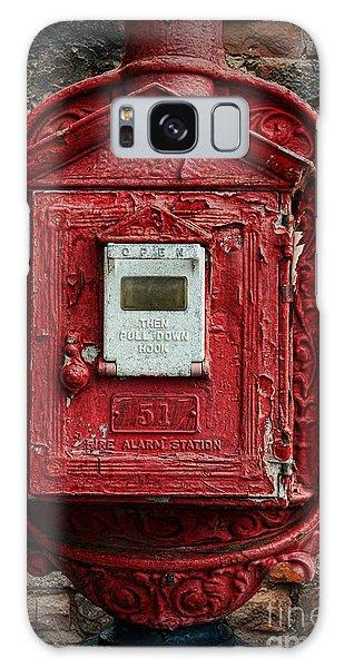 Fireman - The Fire Alarm Box Galaxy Case