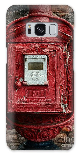 Fireman - The Fire Alarm Box Galaxy Case